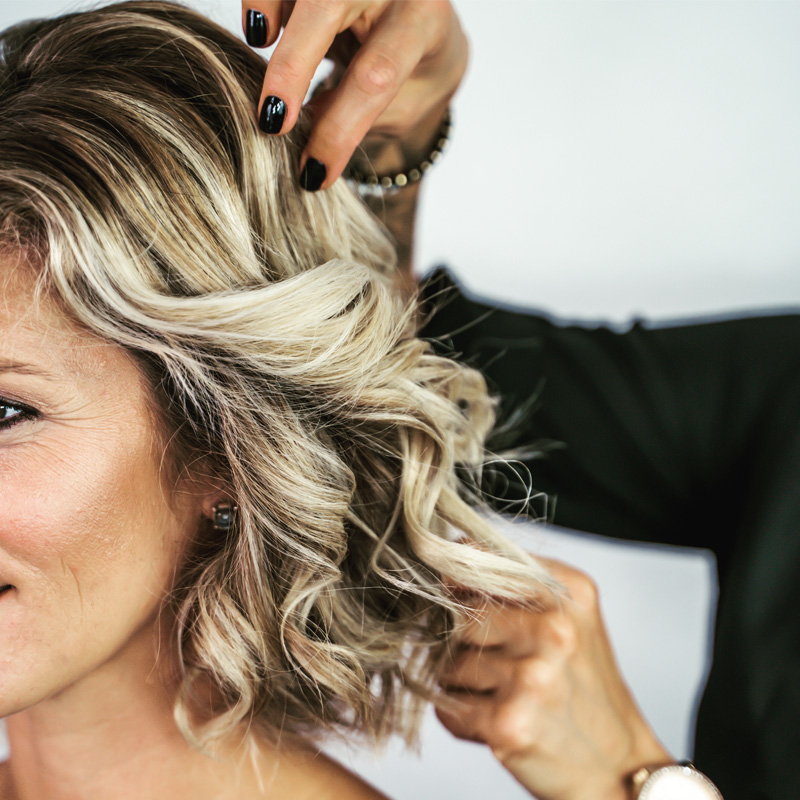 Haare Styling Annie Kaiser Make-Up Artist